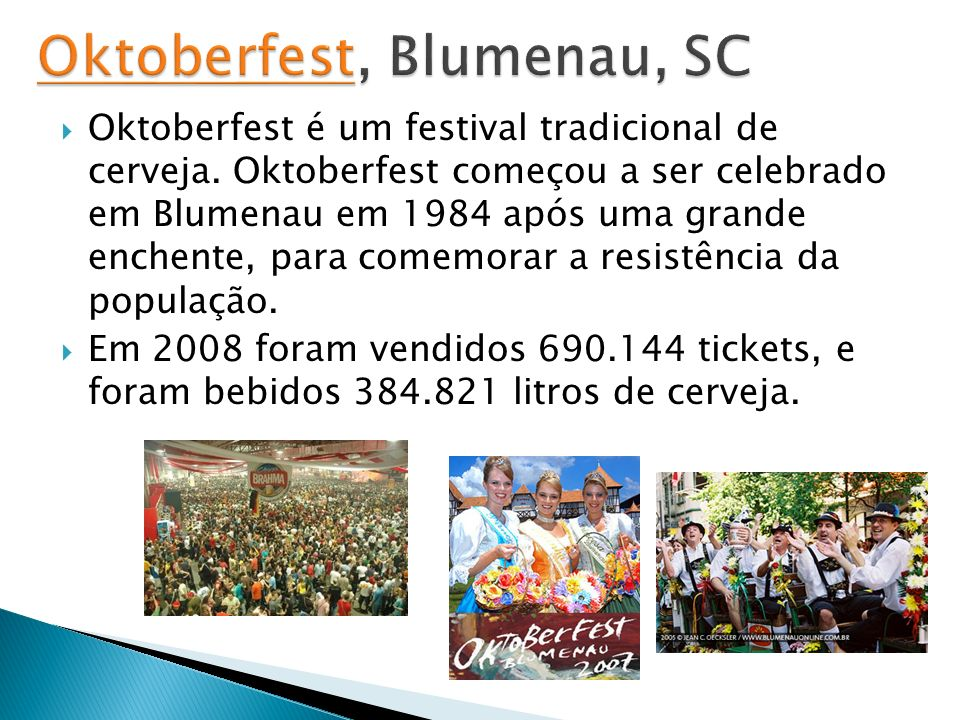 Oktoberfest, Blumenau, SC