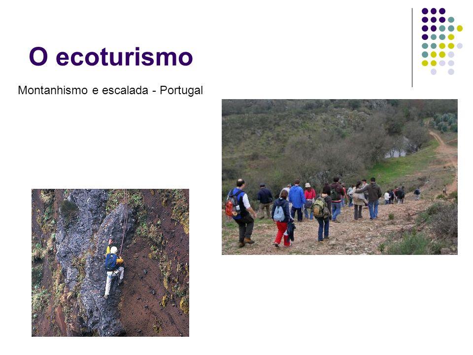 O ecoturismo Montanhismo e escalada - Portugal