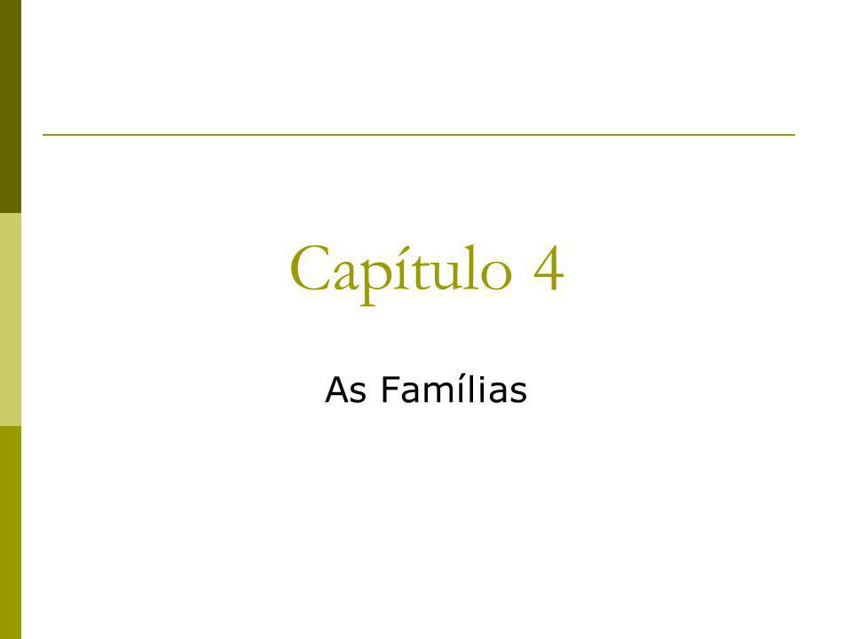 Capítulo 4 As Famílias