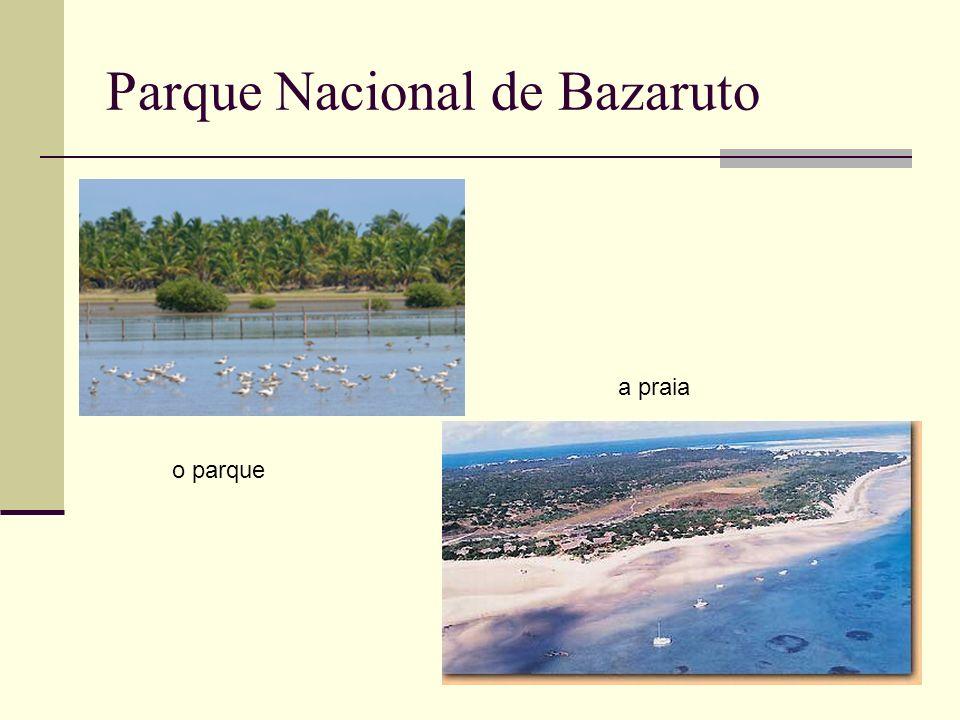 Parque Nacional de Bazaruto
