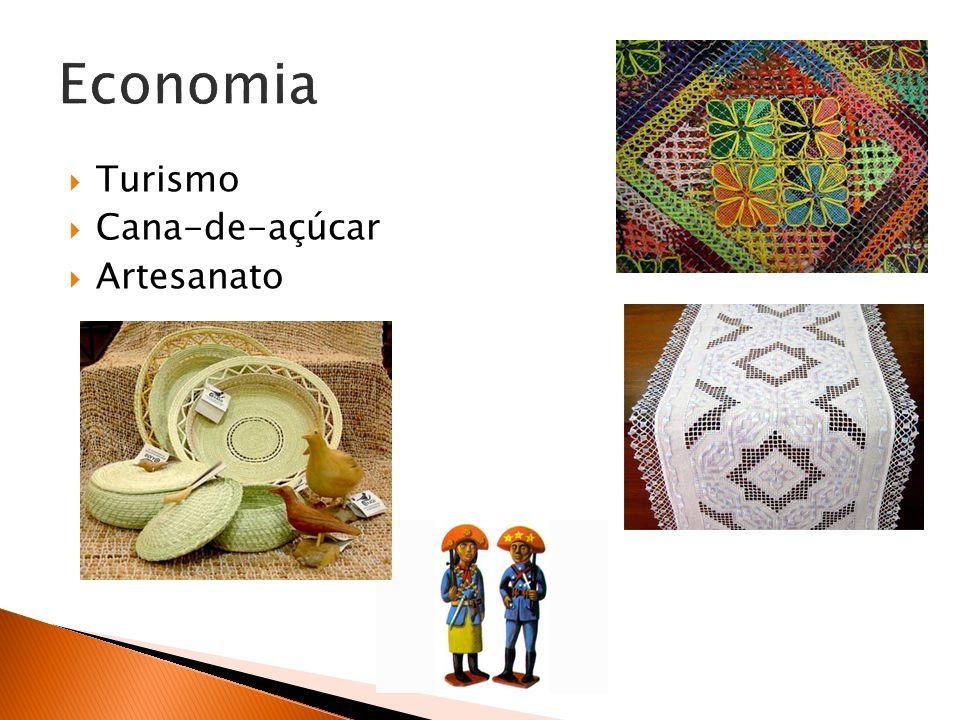 Economia Turismo Cana-de-açúcar Artesanato