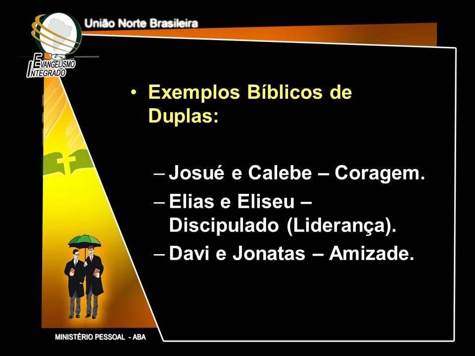 Exemplos Bíblicos de Duplas: