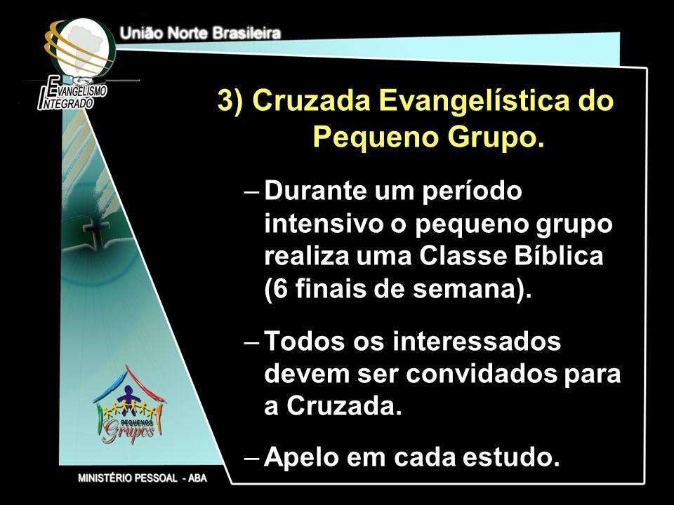 Cruzada Evangelística do Pequeno Grupo.
