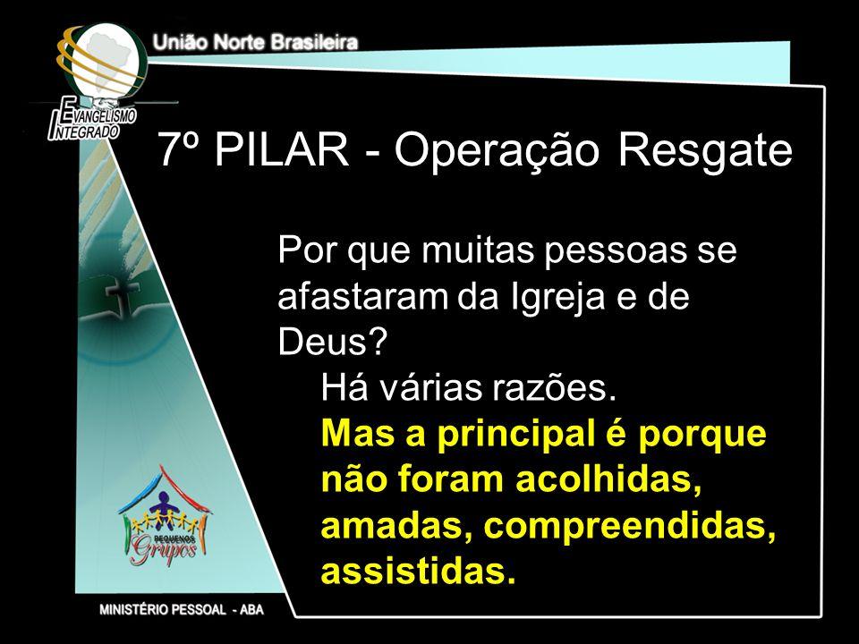 7º PILAR - Operação Resgate