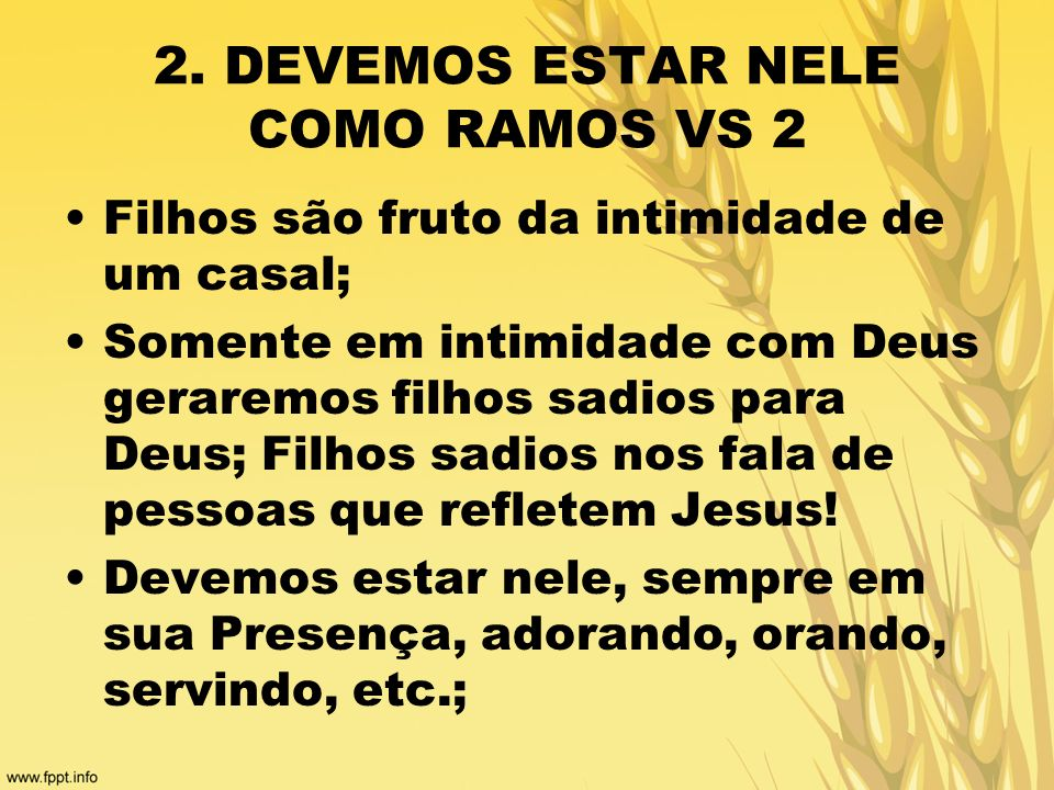 2. DEVEMOS ESTAR NELE COMO RAMOS VS 2