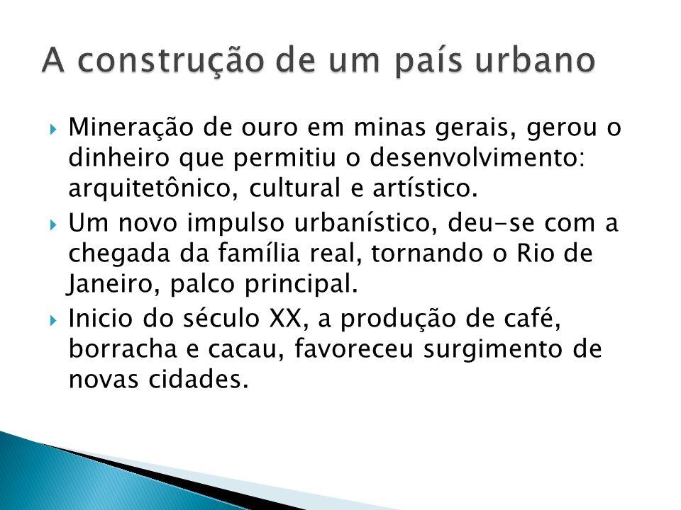A construção de um país urbano