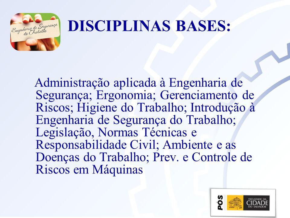 DISCIPLINAS BASES: