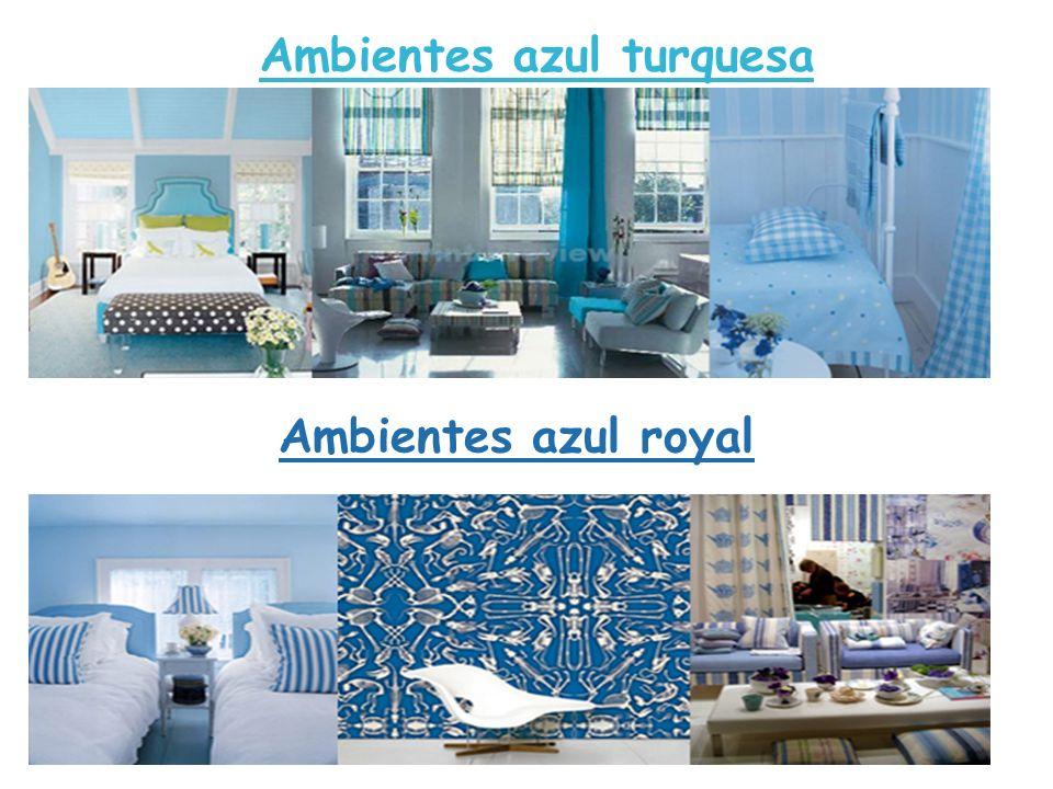 Ambientes azul turquesa