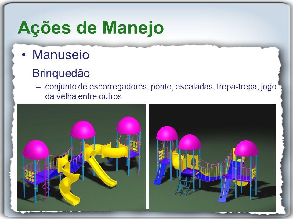 Ações de Manejo Manuseio Brinquedão
