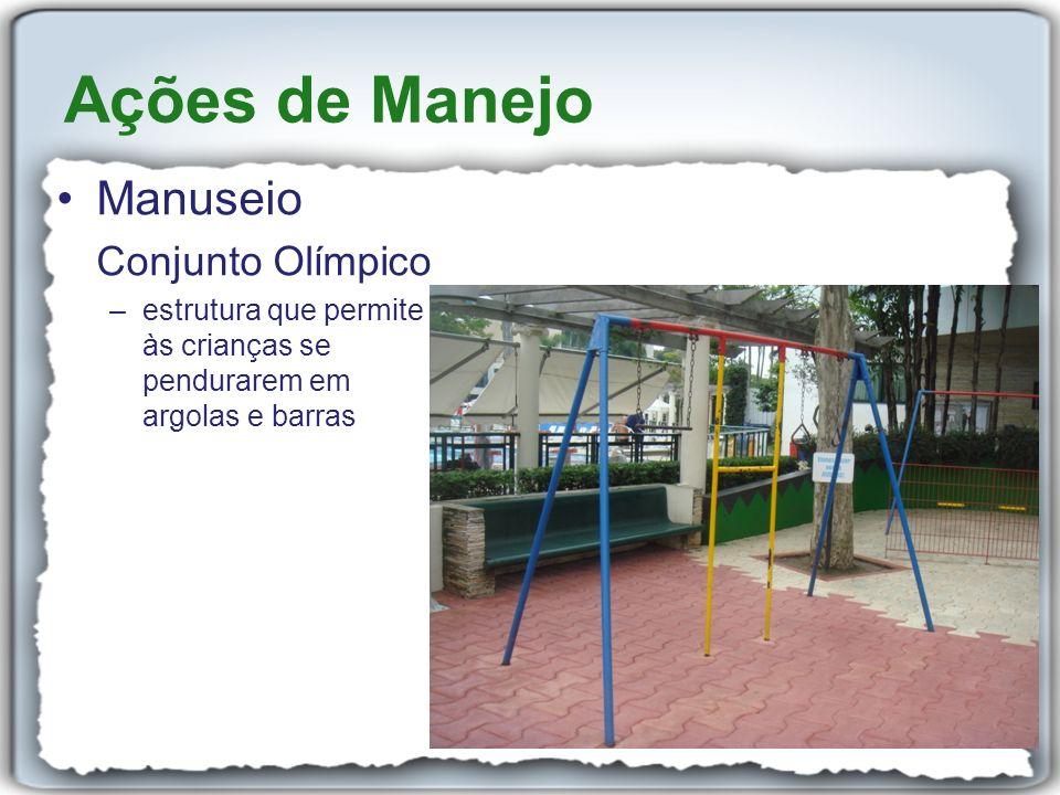 Ações de Manejo Manuseio Conjunto Olímpico