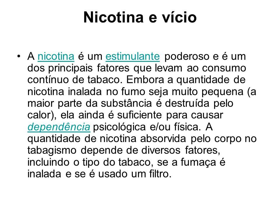 Nicotina e vício