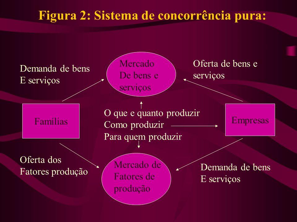 Figura 2: Sistema de concorrência pura:
