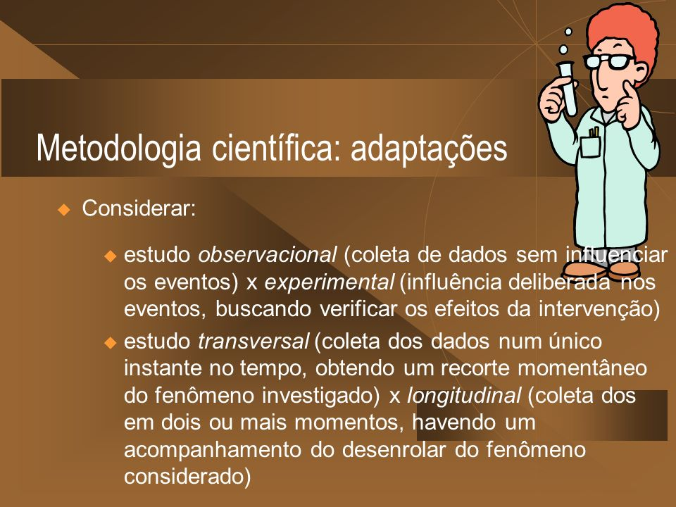 Metodologia científica: adaptações
