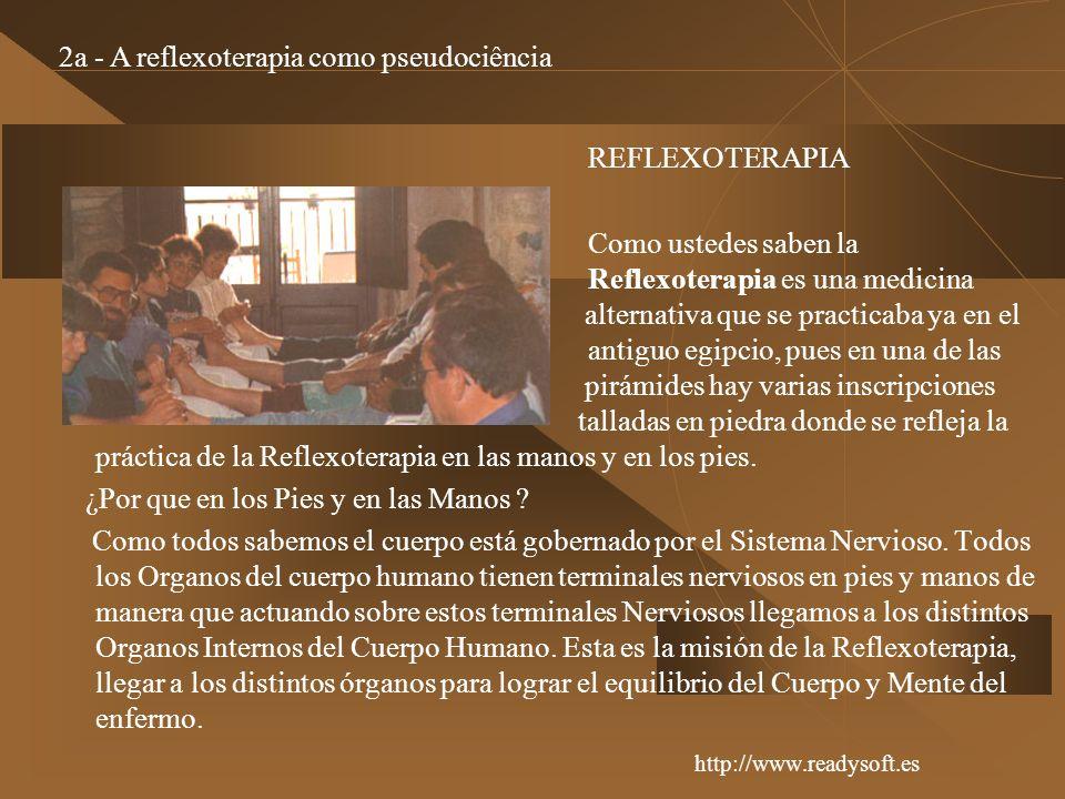 2a - A reflexoterapia como pseudociência