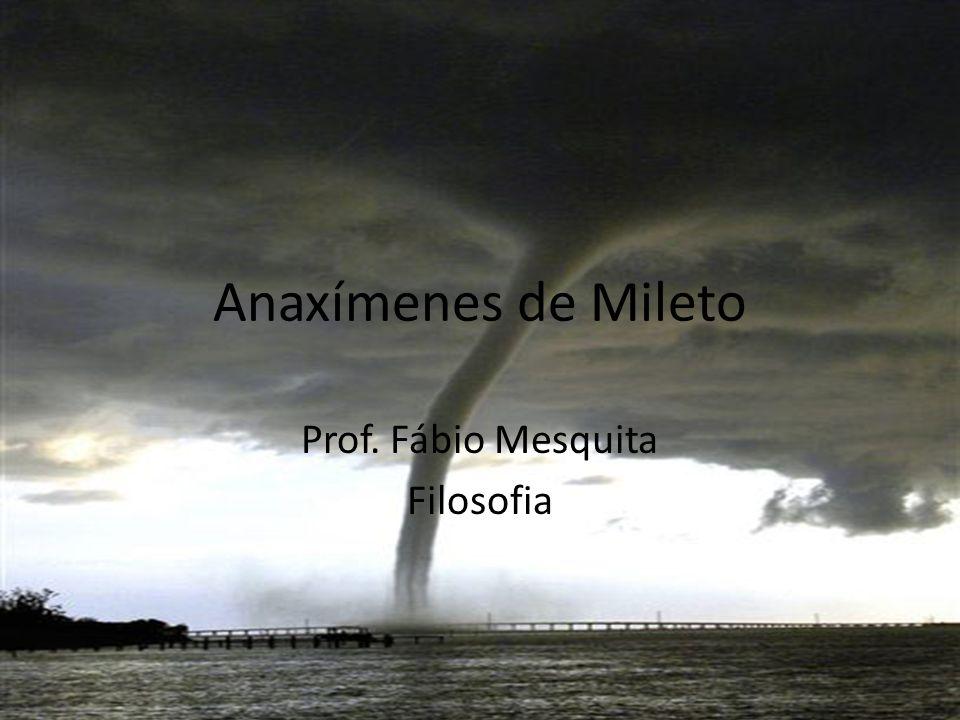 Prof. Fábio Mesquita Filosofia
