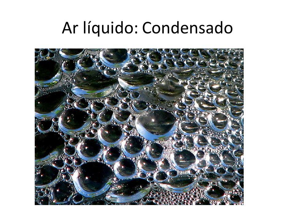 Ar líquido: Condensado