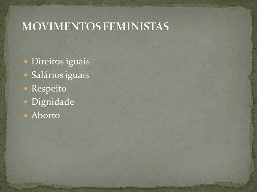 MOVIMENTOS FEMINISTAS