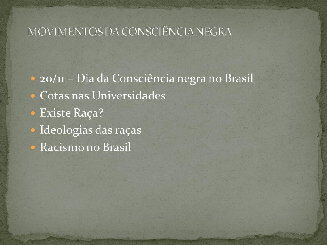 MOVIMENTOS DA CONSCIÊNCIA NEGRA