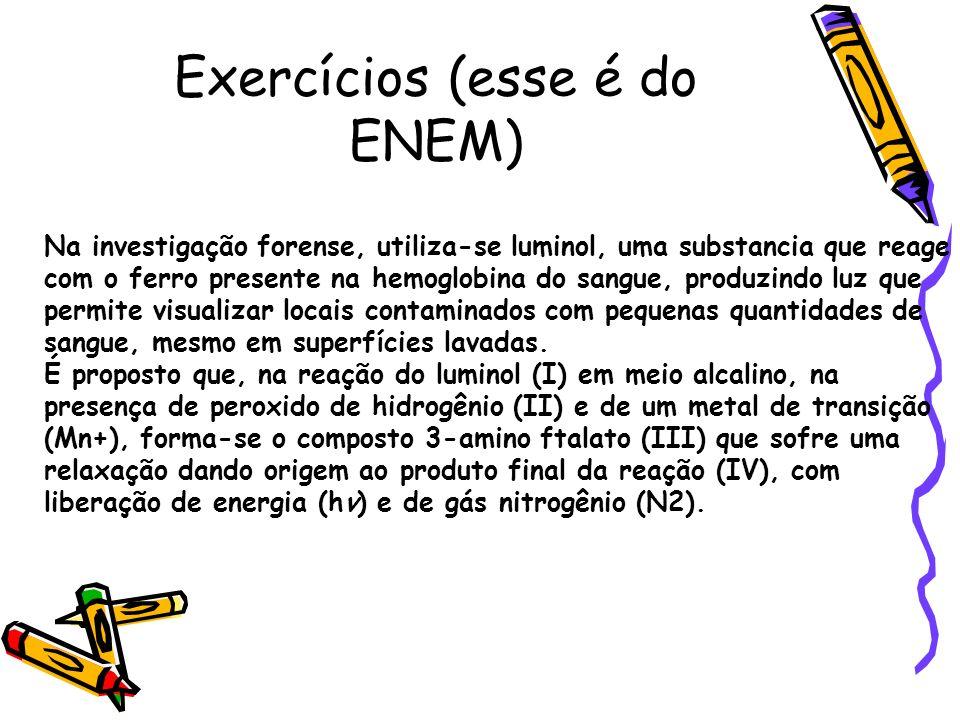 Exercícios (esse é do ENEM)
