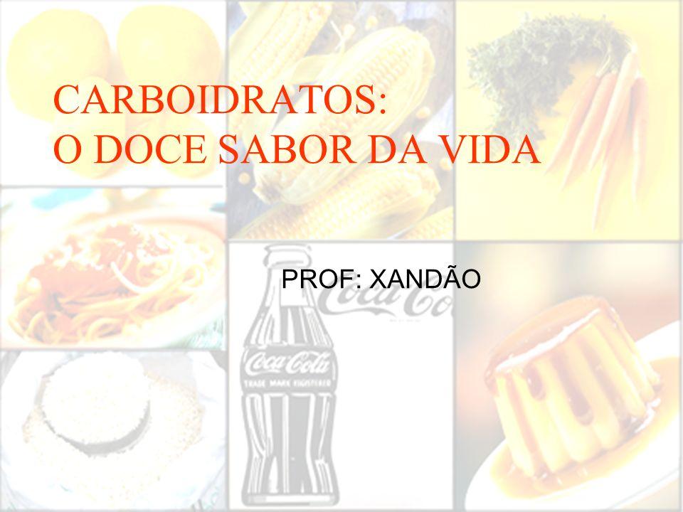 CARBOIDRATOS: O DOCE SABOR DA VIDA