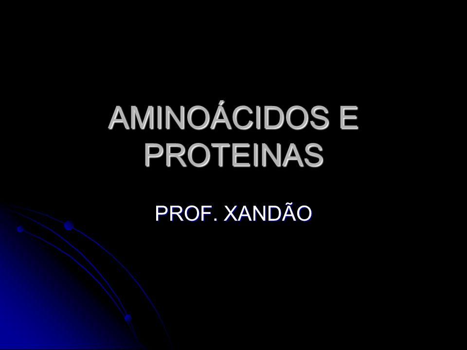 AMINOÁCIDOS E PROTEINAS