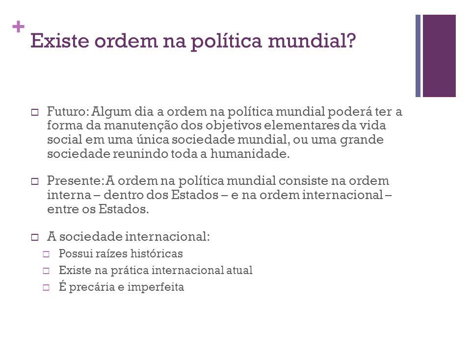 Existe ordem na política mundial