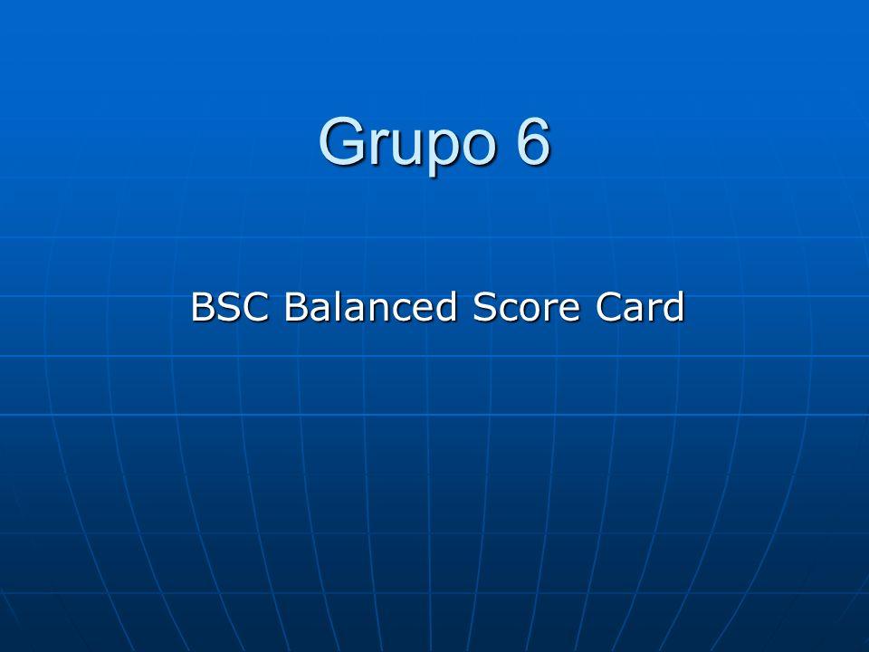 BSC Balanced Score Card