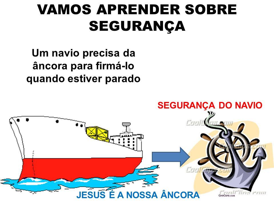 VAMOS APRENDER SOBRE SEGURANÇA
