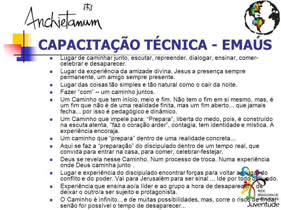 CAPACITAÇÃO TÉCNICA - EMAÚS