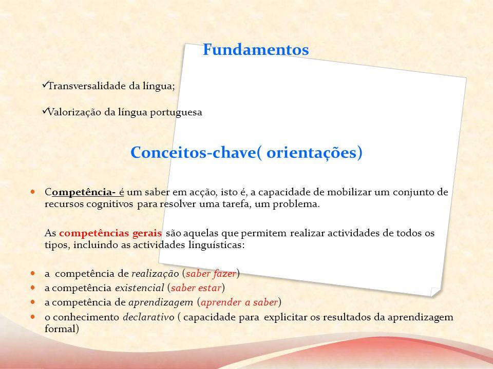 Conceitos-chave( orientações)