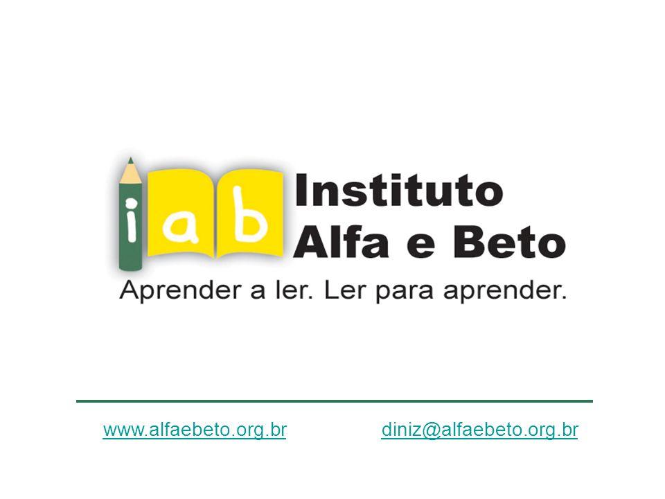 www.alfaebeto.org.br diniz@alfaebeto.org.br