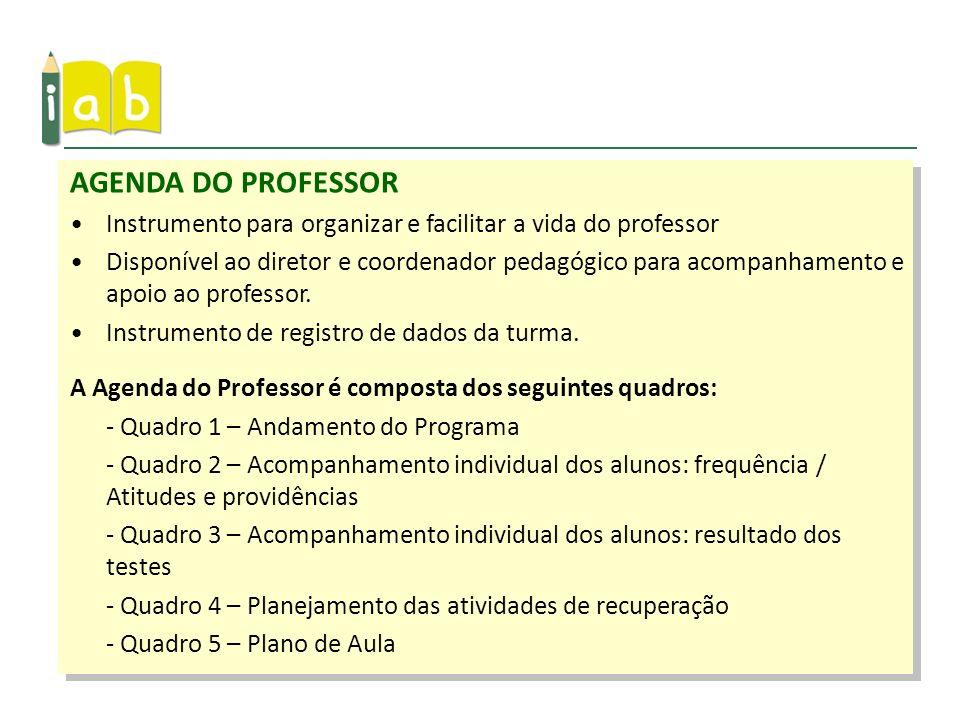 AGENDA DO PROFESSORInstrumento para organizar e facilitar a vida do professor.