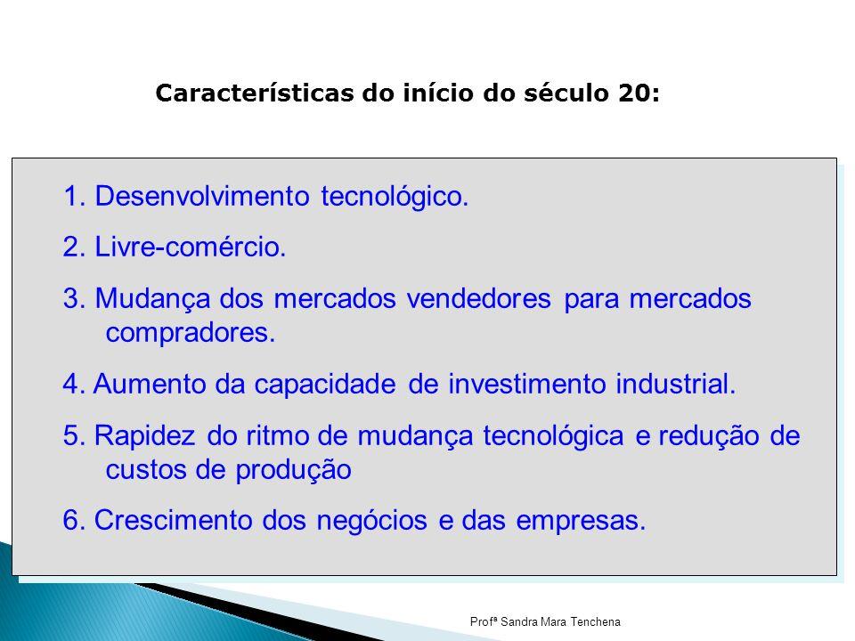 Desenvolvimento tecnológico. Livre-comércio.