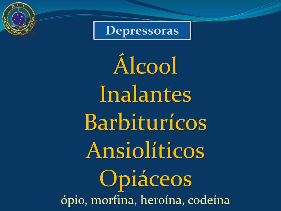 ópio, morfina, heroína, codeína