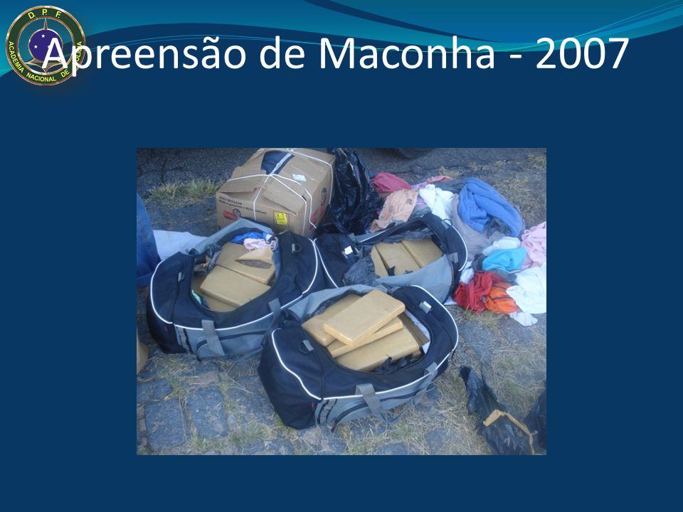 Apreensão de Maconha - 2007