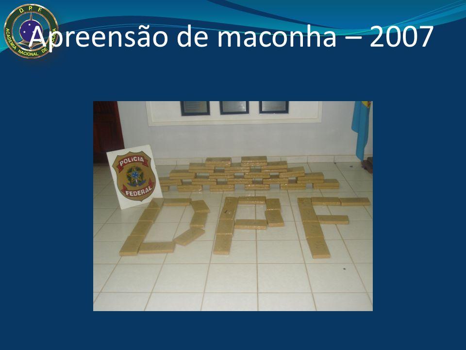 Apreensão de maconha – 2007