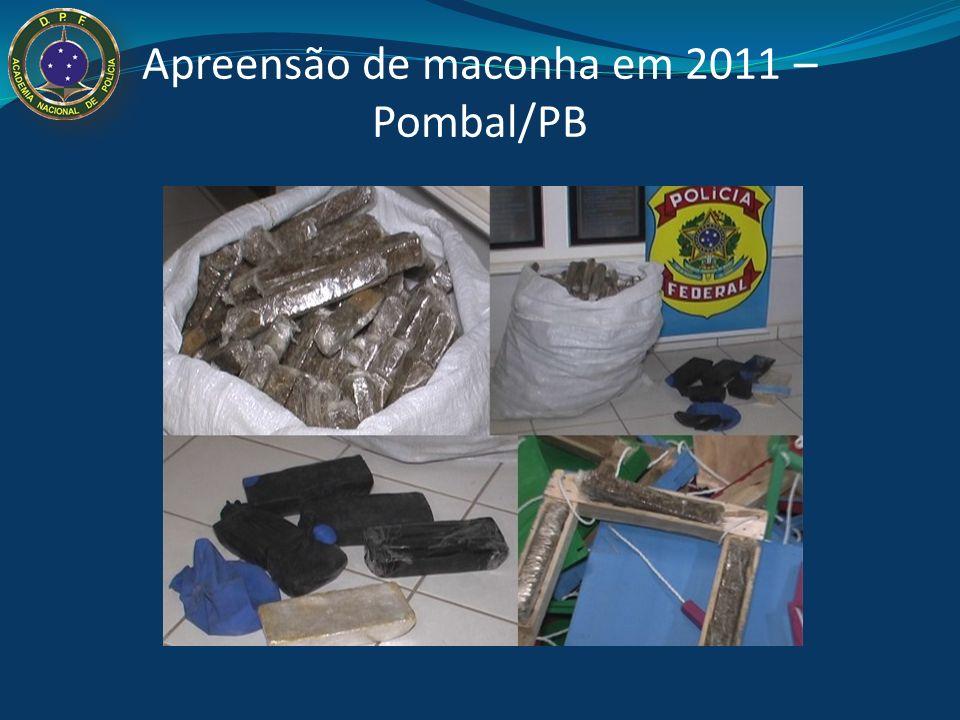 Apreensão de maconha em 2011 – Pombal/PB