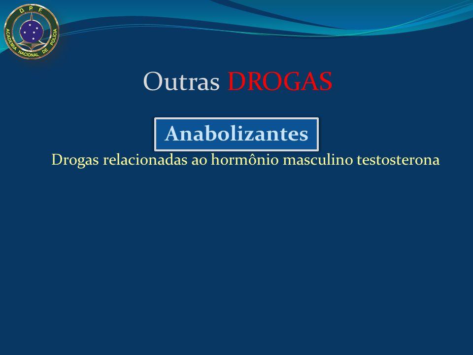 Drogas relacionadas ao hormônio masculino testosterona