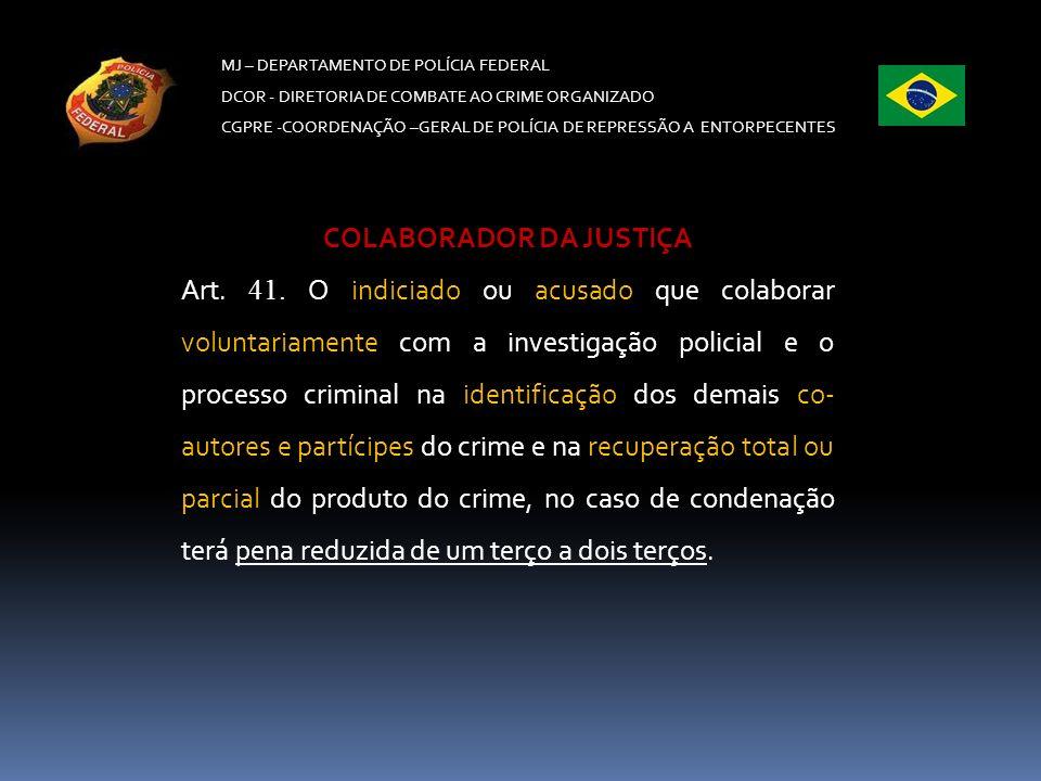 COLABORADOR DA JUSTIÇA
