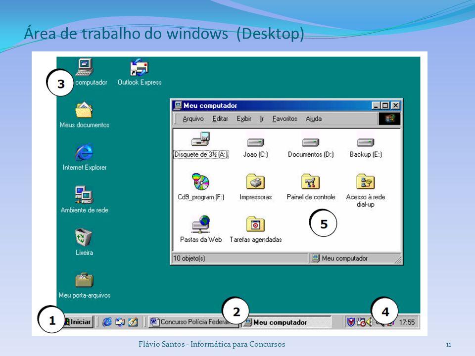 Área de trabalho do windows (Desktop)