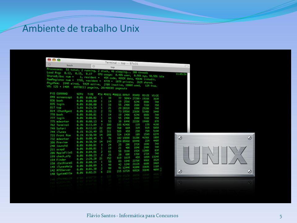 Ambiente de trabalho Unix