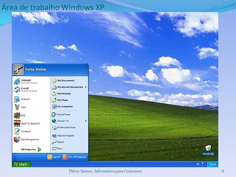 Área de trabalho Windows XP