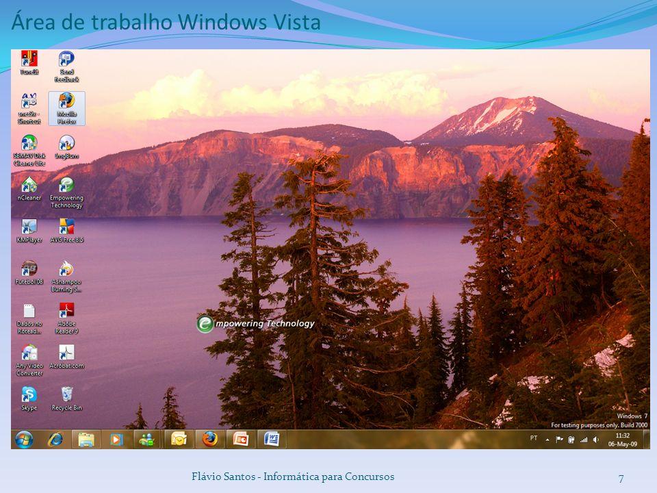 Área de trabalho Windows Vista