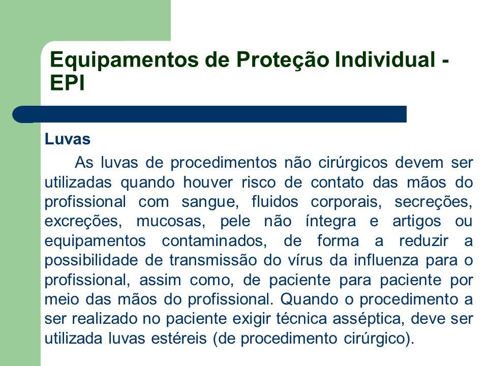 Equipamentos de Proteção Individual - EPI