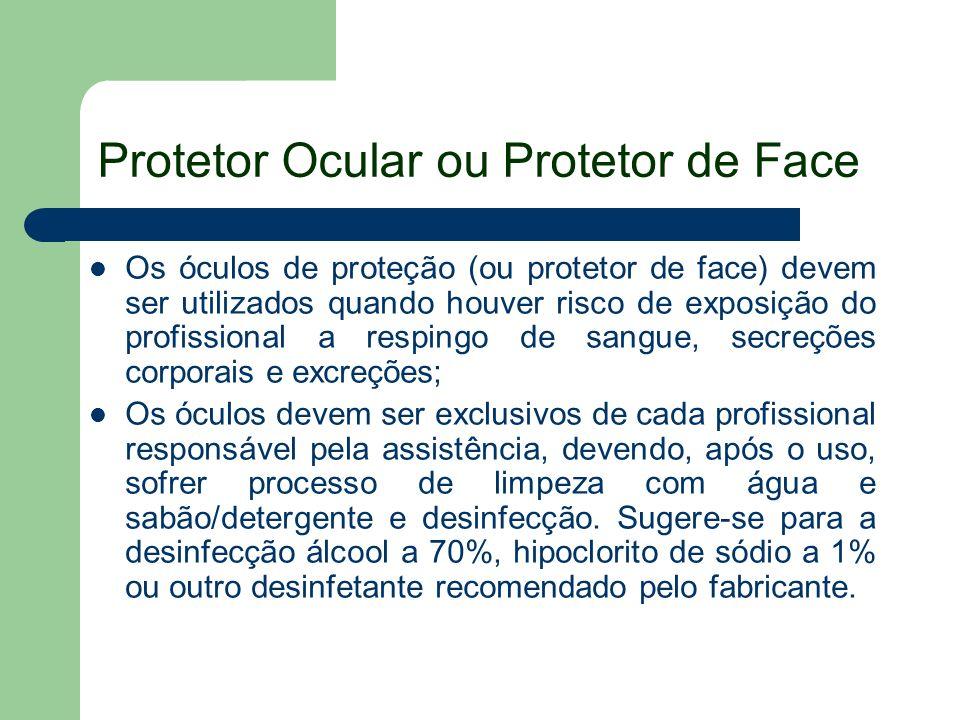 Protetor Ocular ou Protetor de Face