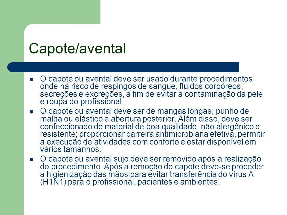 Capote/avental