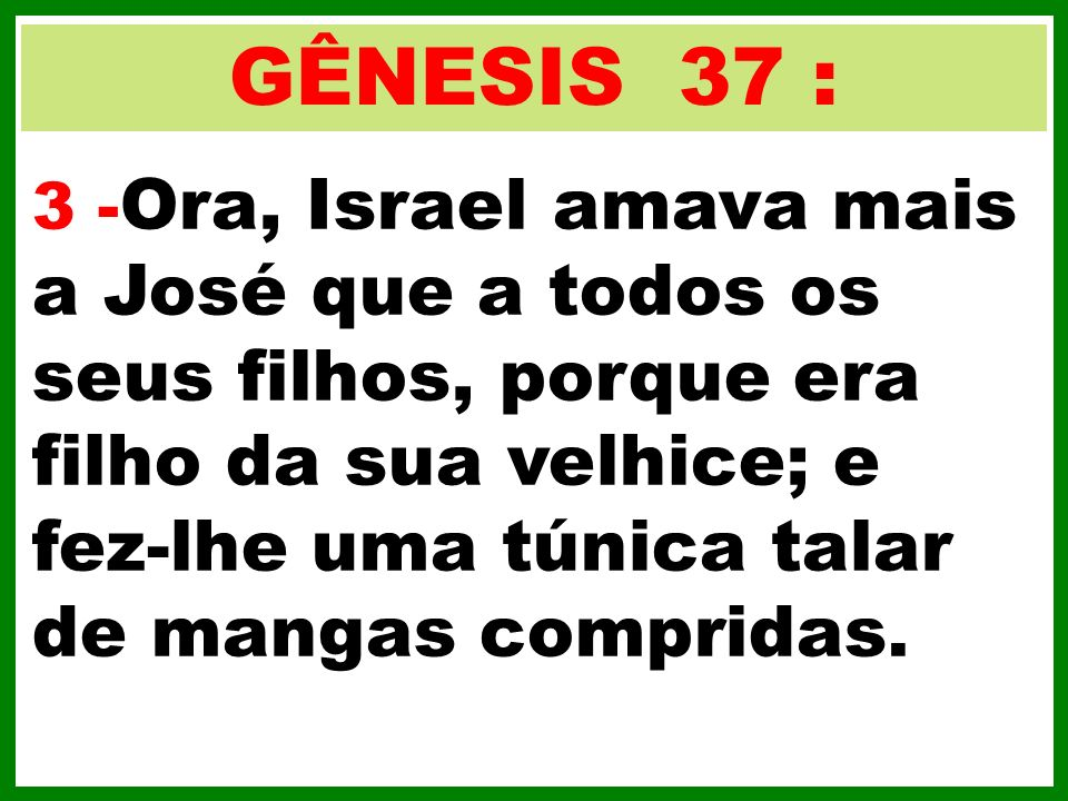 GÊNESIS 37 :