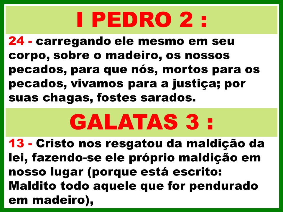 I PEDRO 2 :