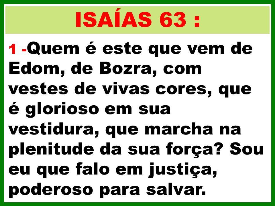 ISAÍAS 63 :