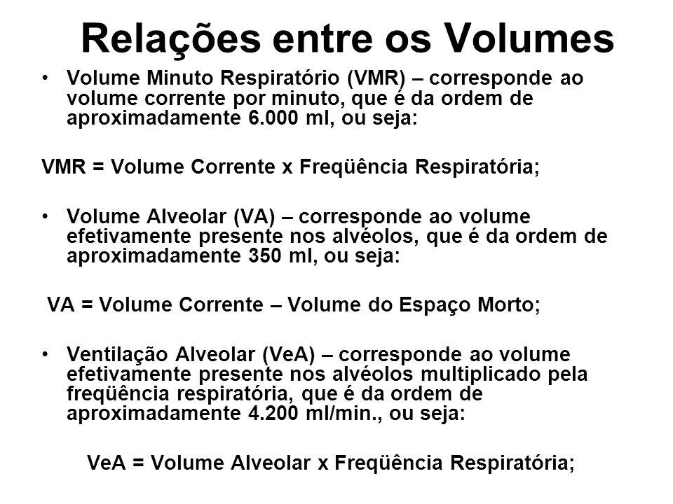 Relações entre os Volumes